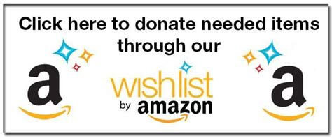 amazon wish list donate southton animal shelter foundation