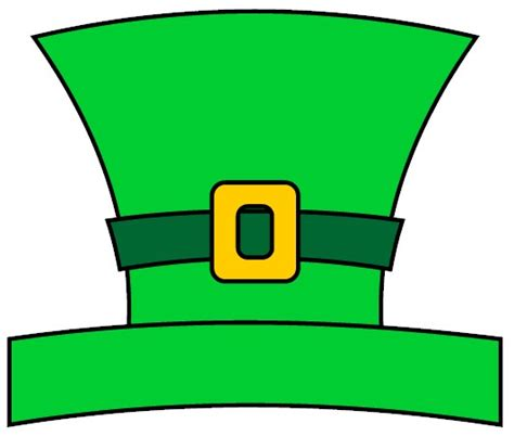 How To Make A Leprechaun Hat Out Of Paper - leprechaun hat cliparts co