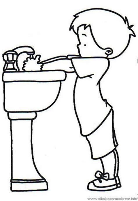 imagenes animadas lavandose las manos portal escuela colorear un ni 241 o lav 225 ndose las manos