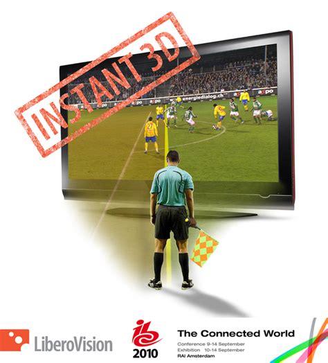 libero news mobile liberovision announces 171 libero offside 187 for instant 3d