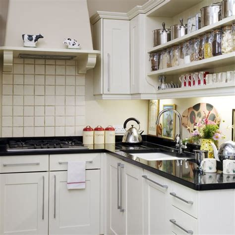 kitchen with open shelving small kitchen design ideas housetohome co uk