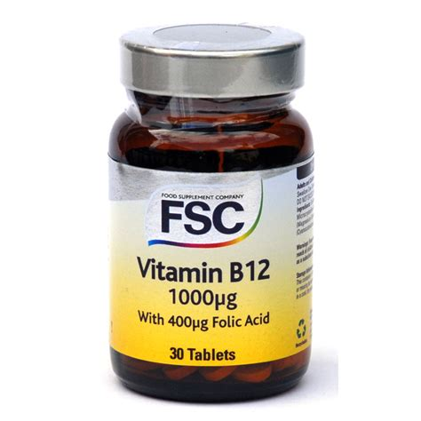 Vit B12 Vitamin B12 1000mcg From Fsc Wwsm