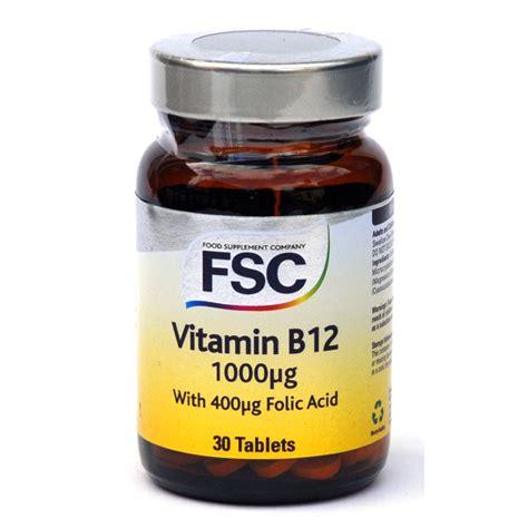 Vitamin B12 Vitamin B12 1000mcg From Fsc Wwsm