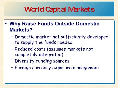 Forex Notes For Mba Students by Foreign Exchange Exposure Ppt Ftse Wma Stock Market