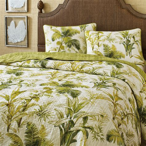 botanical bedding tommy bahama island botanical quilt from beddingstyle com