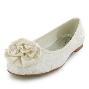 flat ivory wedding shoes new womens ivory flat wedding bridal shoes size 3 8 uk