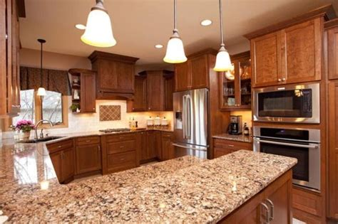 cherry cabinets with quartz countertops cherry cabinets cambria quartz counters with some dark
