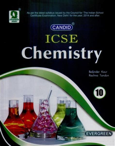 buy candid icse chemistry (class 10) 02 edition at