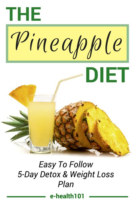 Free Detox Diet Plan For Weight Loss by The Pineapple Diet Rapid Weight Loss And A Toxin Free