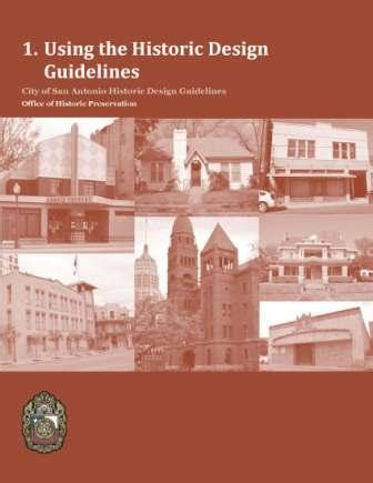 design guidelines for local historic districts historic design guidelines