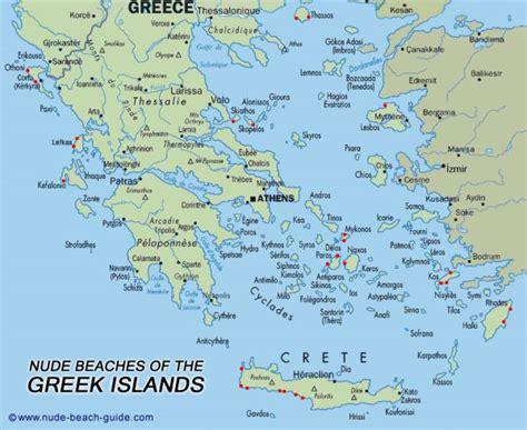 map of greece islands islands map holidaymapq