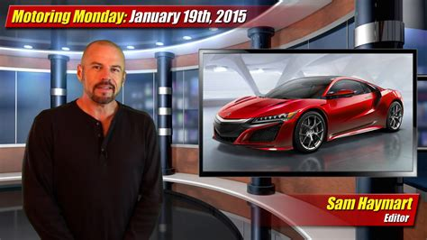 by anto on monday january 19th 2015 at 1128 pm motoring monday january 19th 2015 testdriven tv