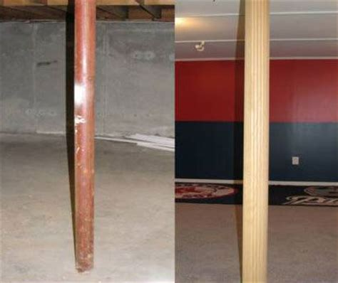17 best images about hide that ugly basement beam on