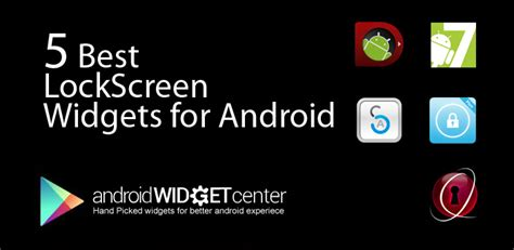 best android lock screen 5 best lock screen widgets for android androidwidgetcenter