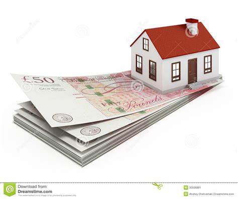 mortgage for house england house mortgage stock image image 30936881