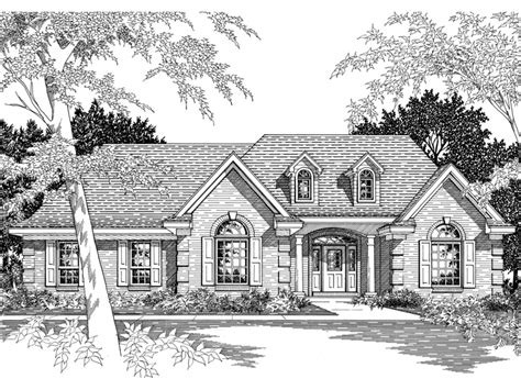 southern ranch house plans emmanuel southern ranch home plan 060d 0060 house plans
