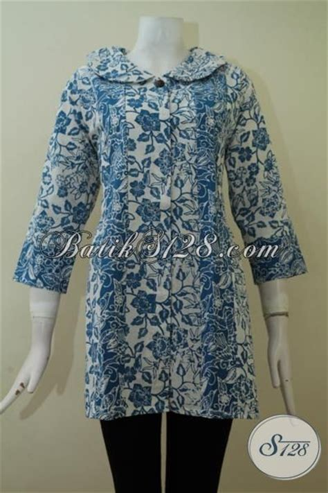 Baju Pakaian Atasan Wanita Ukuran Besar Xxxl Tipe Kristi batik blus ukuran besar untuk perempuan gemuk atasan blus