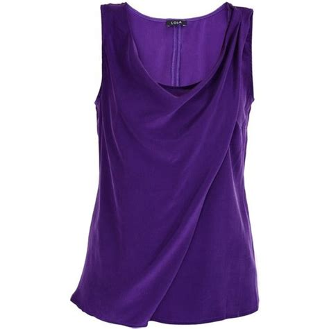 Decke Lila by Lola Magda Purple Silk Top 121 Liked On Polyvore