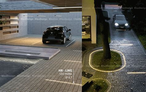 ground lights for driveways driveway led lighting the ultimate curb appeal