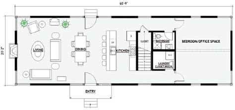 Container Houses Floor Plans by Nowhouse Floorplans