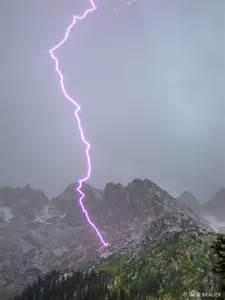 lightning map colorado lightning strikes weminuche wilderness colorado