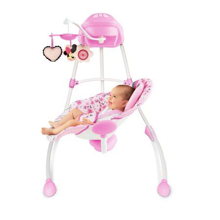 minnie mouse baby swing disney baby minnie mouse precious petals swing best baby