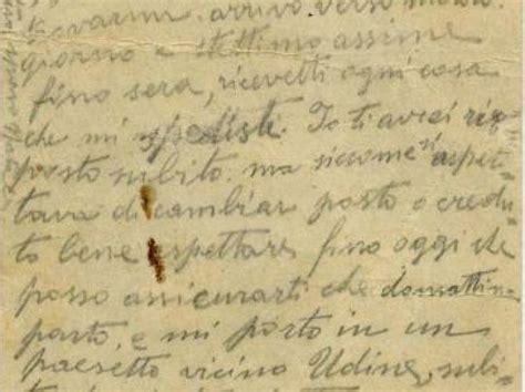 lettere di soldati della prima guerra mondiale reading treviso quot la grande guerra attraverso le lettere