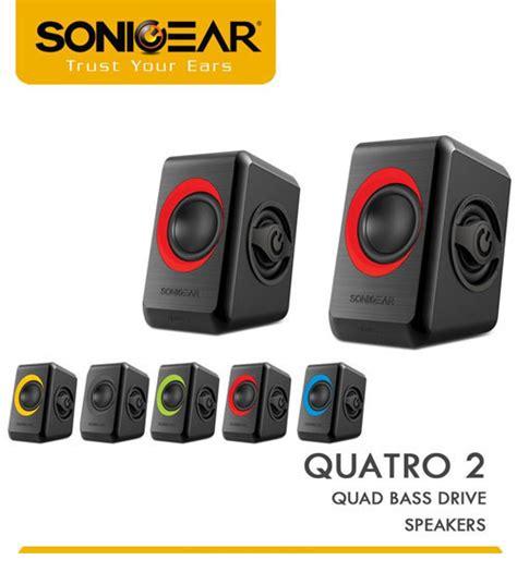 Sonicgear Quatro V Usb 2 1 Speaker sonicgear quatro v usb powered 2 1 multimedia computer pc