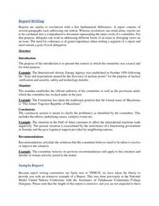 Template For Report Writing Sample Examples Of Resumes Best Photos Report Writing Sample