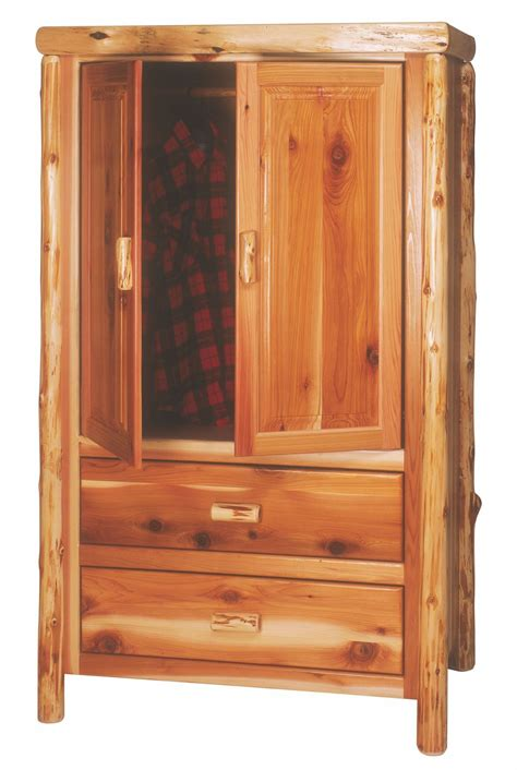 armoire with hanging rod cedar 2 drawer value wardrobe with hanging rod from