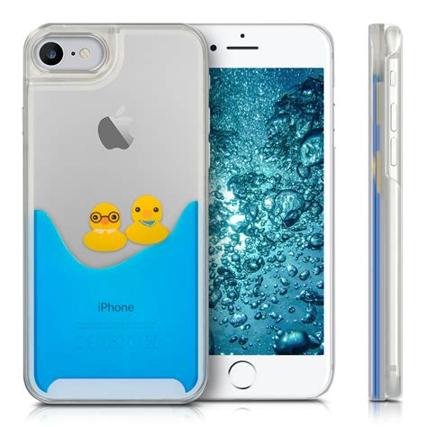 kwmobile cover water for apple iphone 7 8 mobile phone liquid bumper ebay