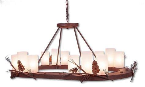 Pine Cone Art Wisley Chandelier Oval Eclectic Pine Cone Chandelier