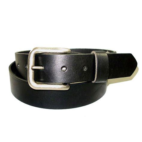 premium bridle leather belt zelikovitz