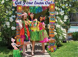 Backyard Birthday Party Ideas Sweet 16 Luau Photo Booth Ideas Party City