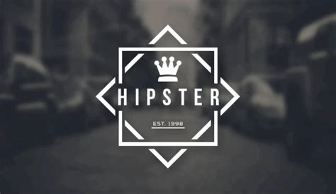 Tutorial Hipster Logo Photoshop | how to design a logo