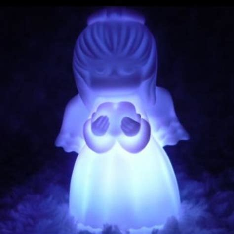 buy  color changing led cute angel night light decoration
