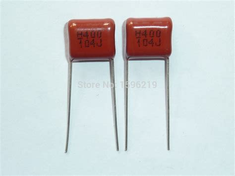 buy 104 capacitor aliexpress buy 10pcs cbb capacitor 104 400v 104j 0 1uf 100nf p10 cl21 metallized