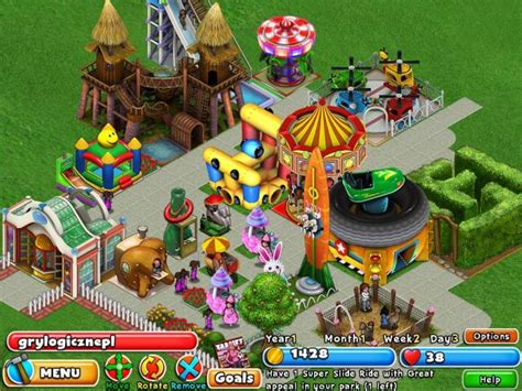 theme park builder dream builder amusement park gry logiczne