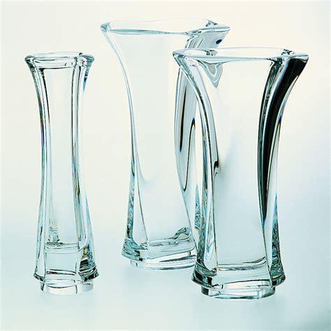 vasi di cristallo vaso in cristallo cm 28 in offerta cristal s 232 vres di