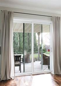 Curtains For Door Window by 25 Best Ideas About Patio Door Curtains On