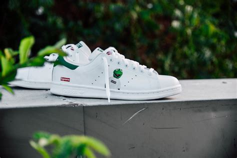 adidas stan smith supreme amac supreme custom sneakers hypebeast