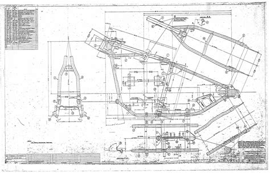 custom blueprints dick allen blueprint frames