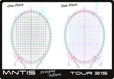 string pattern tennis free patterns tennis rackets mantis tour 315 tennis racket