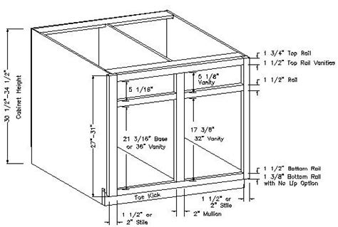 kitchen cabinet face frame dimensions 10 best images about cabinets on pinterest base cabinets
