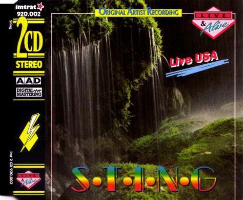 live usa sting live usa cd album at discogs