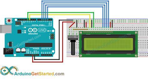 arduino lcd arduino tutorial