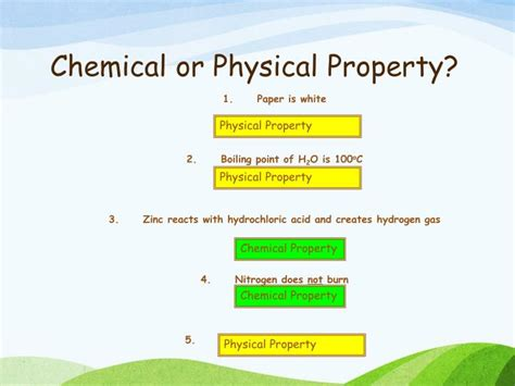 is color a physical or chemical property ppt monday october 28 th 2013 powerpoint presentation