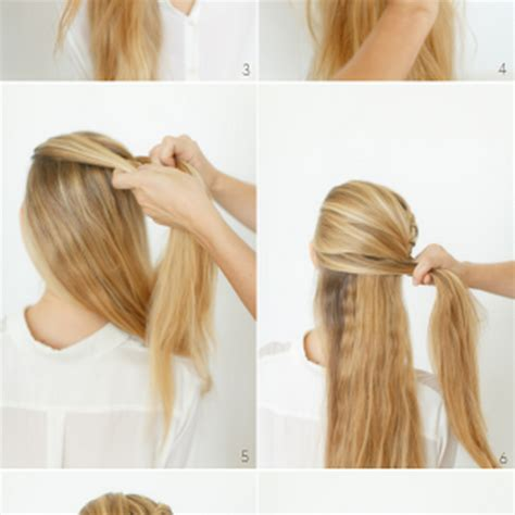 easy hairstyles done at home hairstyles easy to do at home