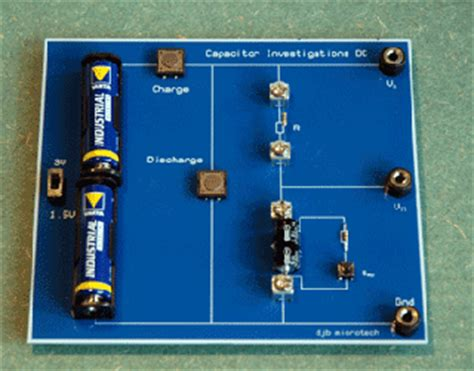 discharge capacitor on board capacitor behaviour 28 images remote rc circuit response to different input voltages