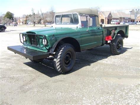 convertible jeep truck 1968 kaiser jeep m715 1 1 4 ton 4x4 convertible top truck